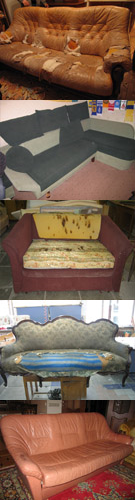 Заказать Оббивка мягкой мебели
