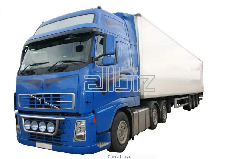 Заказать Услуги подрядчиков по перевозкам