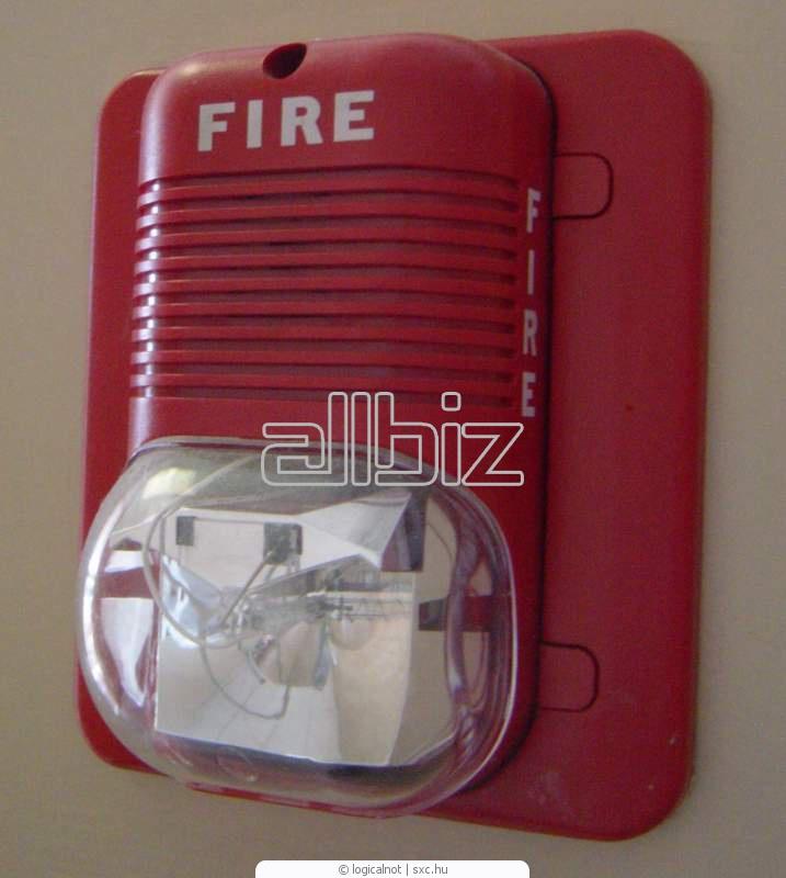 Заказать Установка систем пожарной и охранной сигнализации, монтаж пожарной сигнализации, Киевская область.