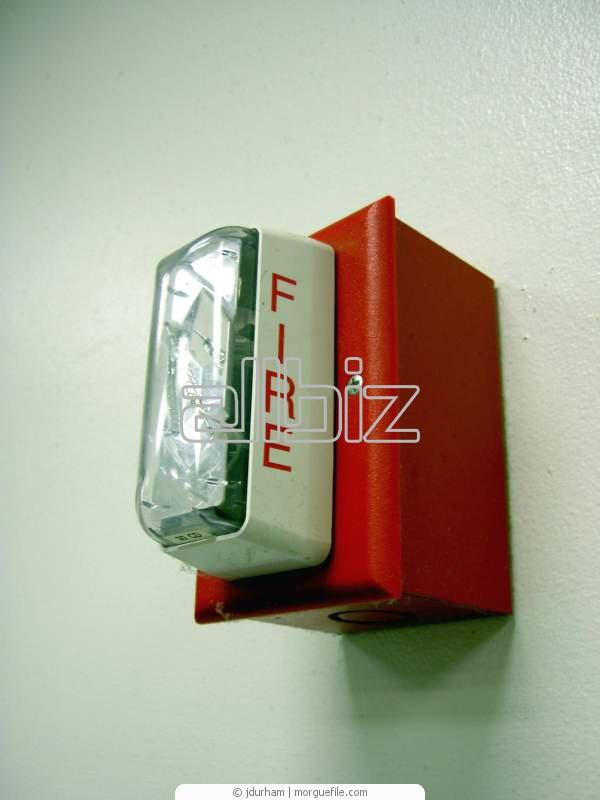 Заказать Монтаж систем охранно-пожарной сигнализации, установка систем пожарной сигнализации, Киевская область.