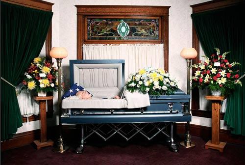 Заказать Подготовка тела к погребению