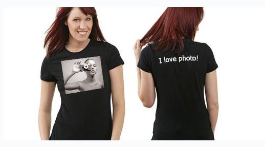 Заказать Печать фотографий на футболках Киев. Цена.