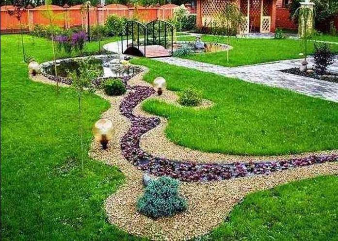 Заказать Проектирование ландшафта сада