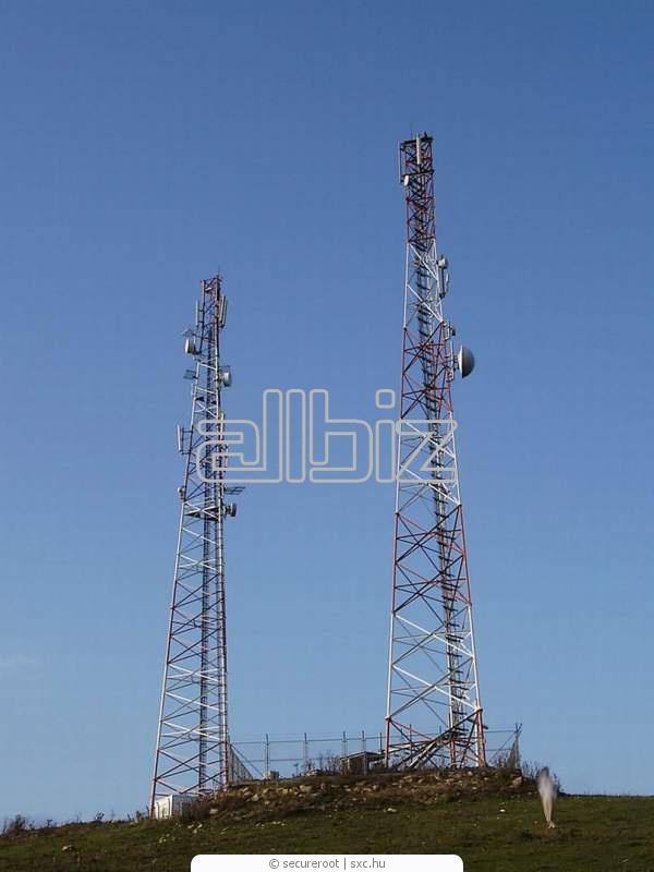 Заказать Строительство объектов мобильной связи