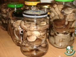 Заказать Консервированные грибы
