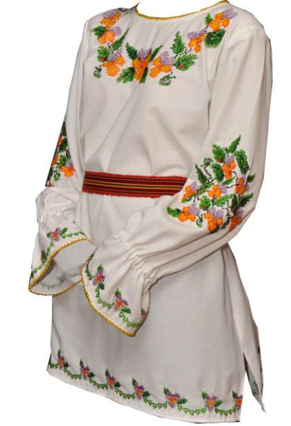 Вишивка жіночих блузок
