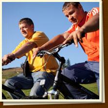 Заказать Катание на горных велосипедах