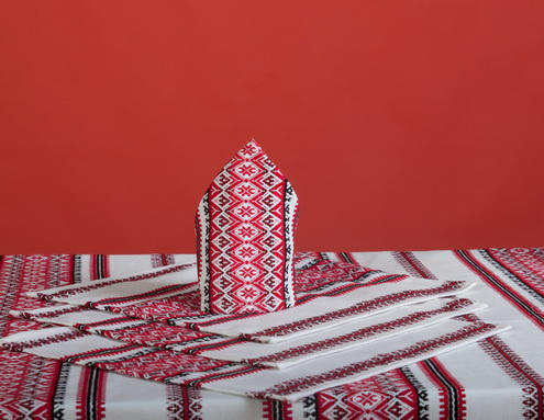 Пошив салфеток, дизайн узоров, подбираем стиль и колористику изделий