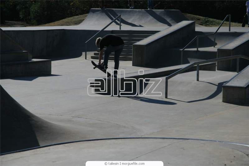 Устройство скейтпарков, проектирование скейтпарка