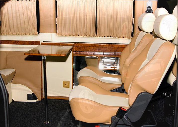 Заказать Переоборудование автомобилей, Переоборудование микроавтобуса из грузового в пассажирский