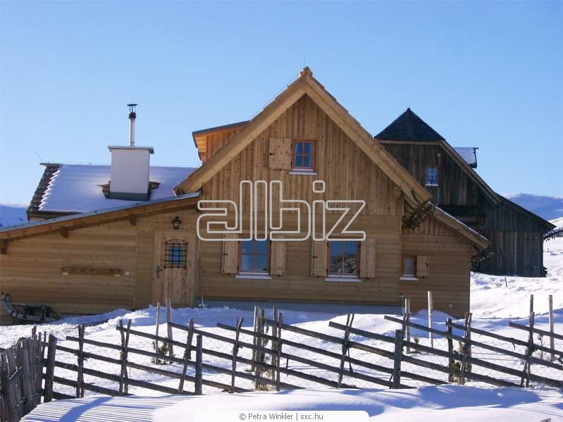 Заказать Строительство и ремонт деревянных домов