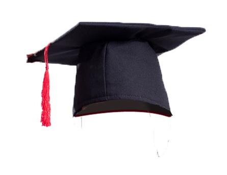 Шапка выпускника из бумаги