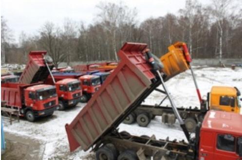 Заказать Доставка сыпучих материалов в Киеве и Киевской области, перевозка песка, щебня, цемента