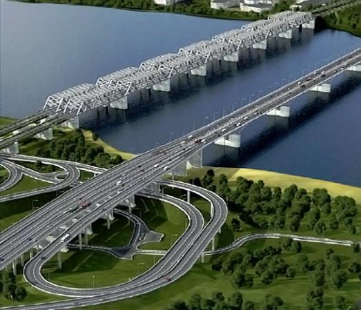 Строительство мостов путепроводов