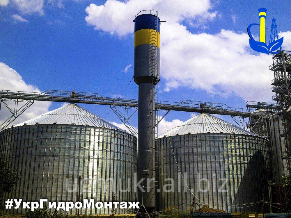 Заказать Стальная водонапорная башня, изготовление в Украине
