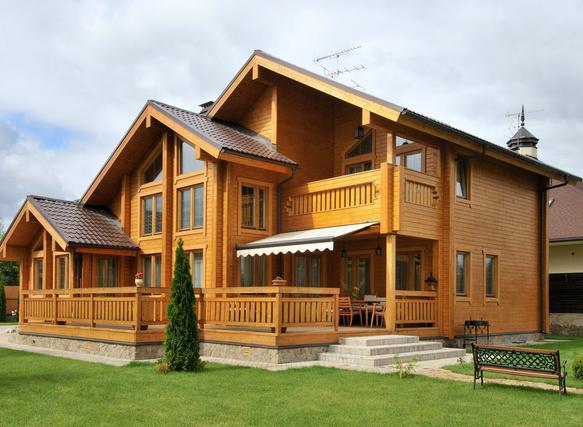 Заказать Замовити будівництво дерев`яного будинку під ключ