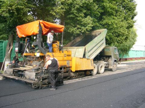 Заказать Асфальтирование дорог в Житомире, Житомирской области