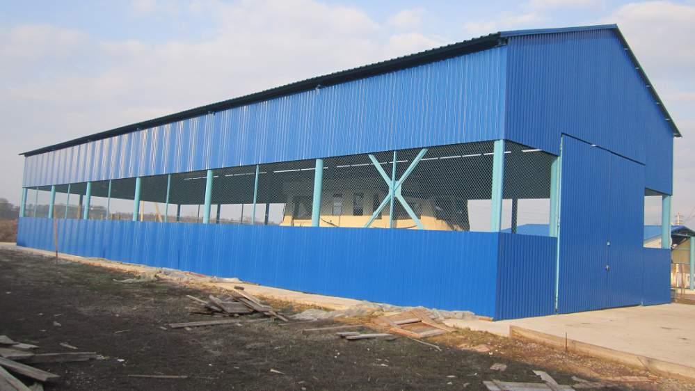 Заказать Проектирование ангаров из легких металлоконструкций в Житомире, Житомирской области