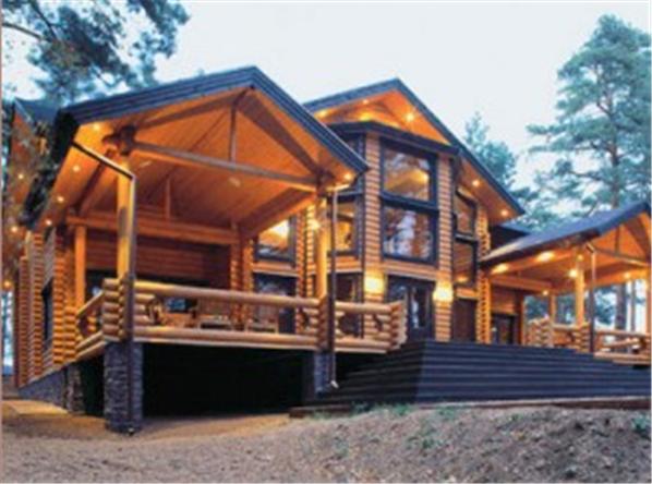 Заказать Строительство домов из дерева, дома из оцилиндрованного бруса