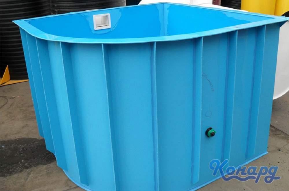 Заказать Изготовление бассейнов из полипропилена, Украина.