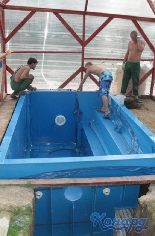 Заказать Производим рыбоводные бассейны из полипропилена с установкой, Сумы, Украина.