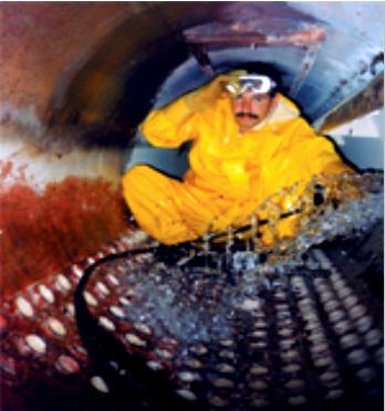 Заказать Очистка от накипи трубопроводов и оборудования