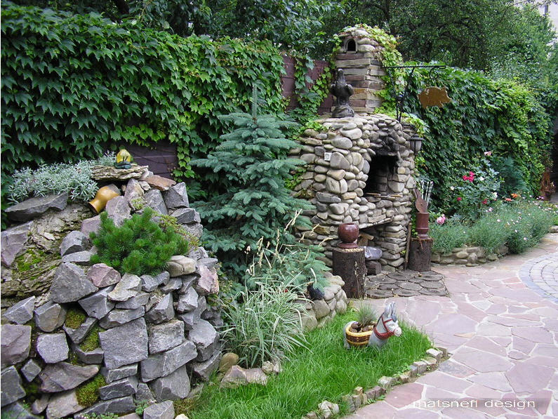 Заказать Ландшафтный дизайн из камня