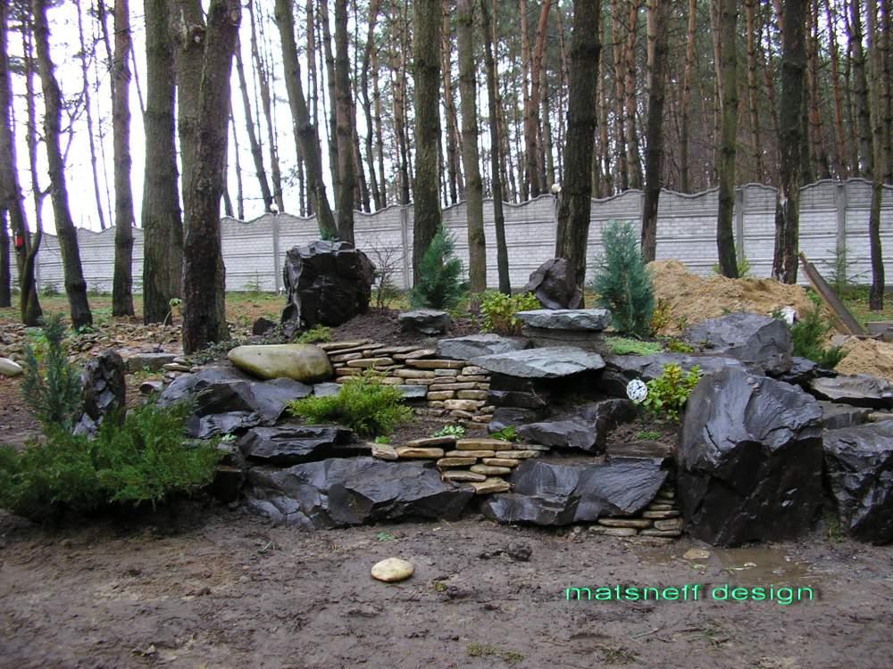 Заказать Дизайн дачного участка в лесу