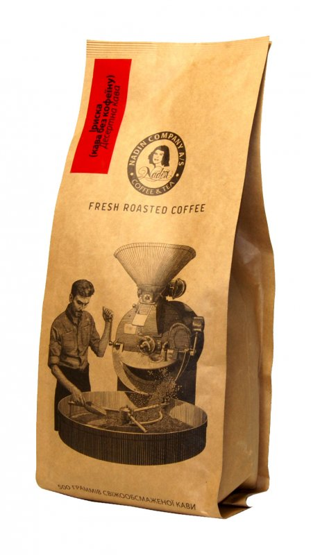 Автоматическая упаковка кофе