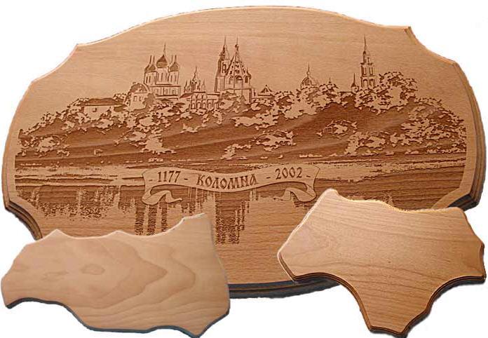 木头,塑料上的激光雕刻