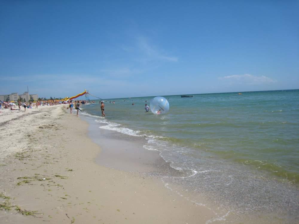 Пляж в лазурному 59