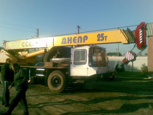 Заказать Услуги автокрана вездехода Киевская область, Киев