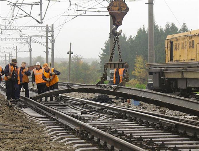 Заказать Строительство железнодорожных подъездных путей