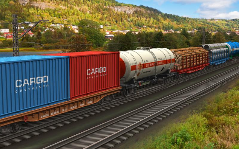 Заказать Комбинированные перевозки. Железнодорожный и автотранспорт
