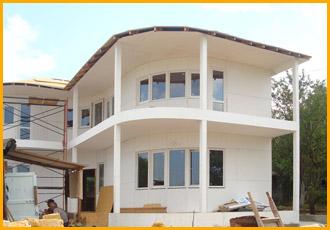 Заказать Строительство быстровозводимых, каркасных домов, Деревянные быстровозводимые каркасные дома, Строительство деревянно-каркасных домов, в Севастополе и в Крыму