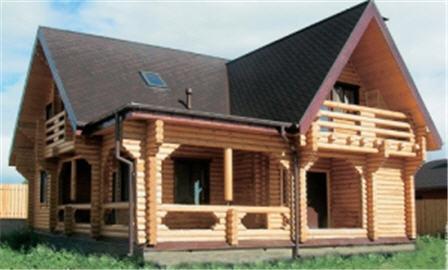 Заказать Строительство деревянных домов. построить деревянный дом. Дом из бруса