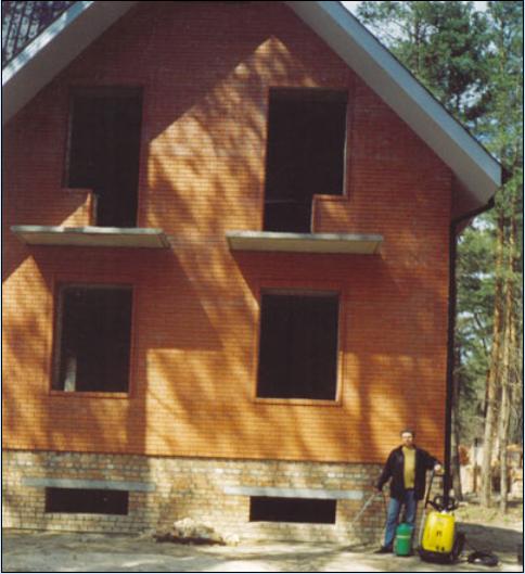 Гидрофобизация, очистка фасадов, гидроизоляция крыши