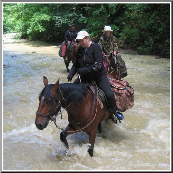 Инструктор конного туризма