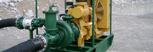 Ремонт промышленных водяных насосов