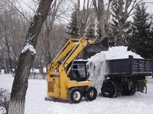 Заказать Уборка и вывоз снега