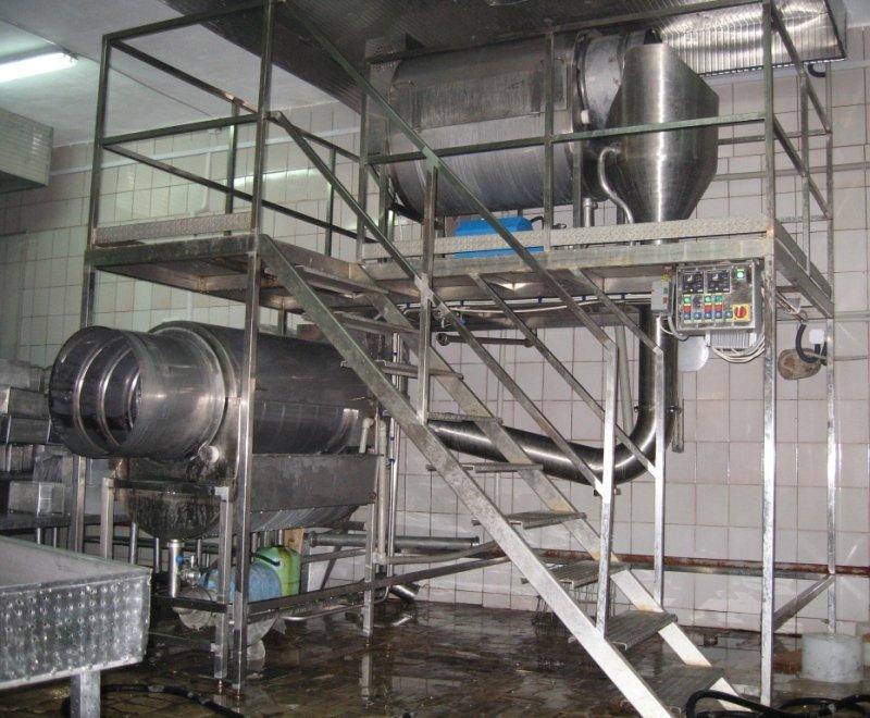 Заказать Изготовление нестандартного технологического оборудования поточного типа