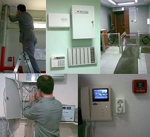 internal and external electric installation work, video surveillance, wiring,  access monitoring systems
