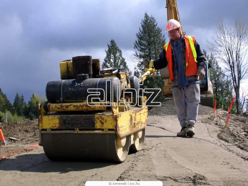 Заказать Аренда дорожно-строительной техники