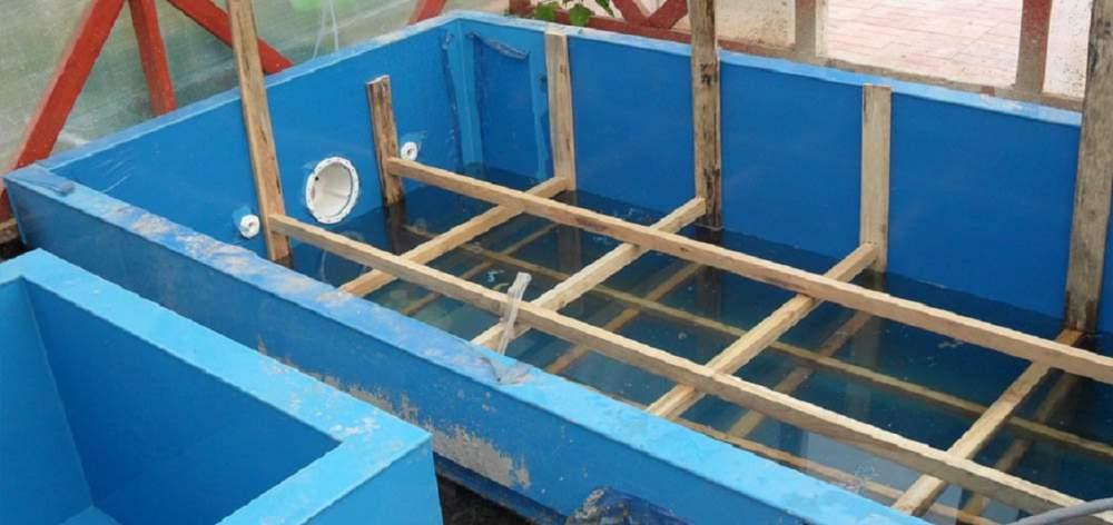 Заказать Монтаж бассейнов, купелей для бань и саун, в Сумы