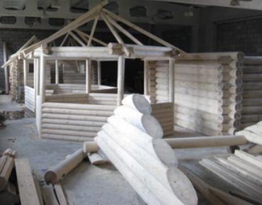 Заказать Строительство домов из дикого сруба