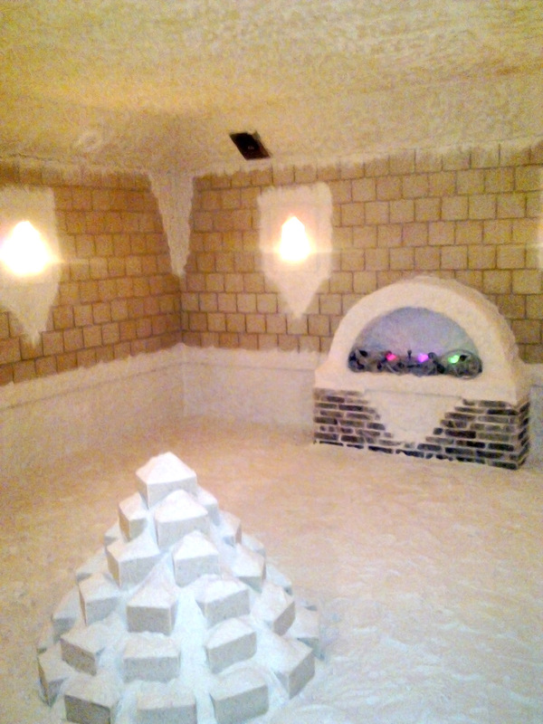 Заказать Строительство соляных комнат