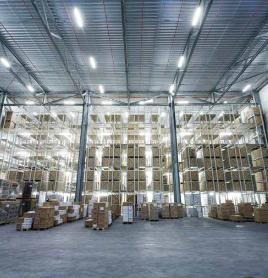 Order Letting of warehouses and warehouse spaces