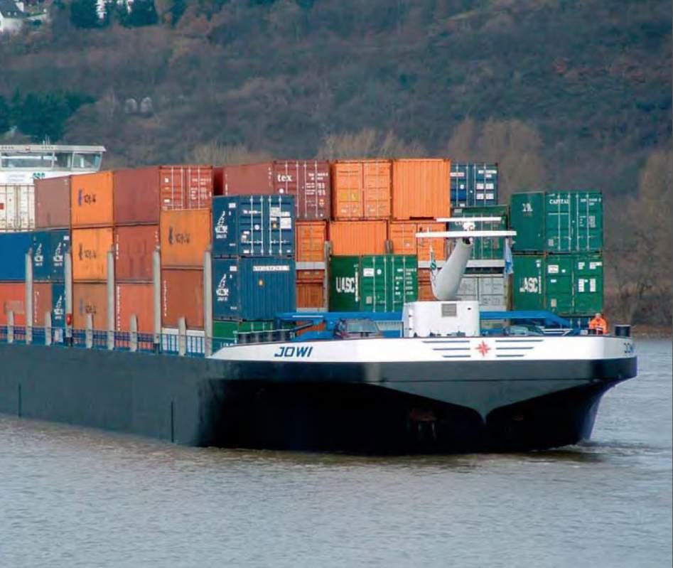 Order Logistics of river transpor