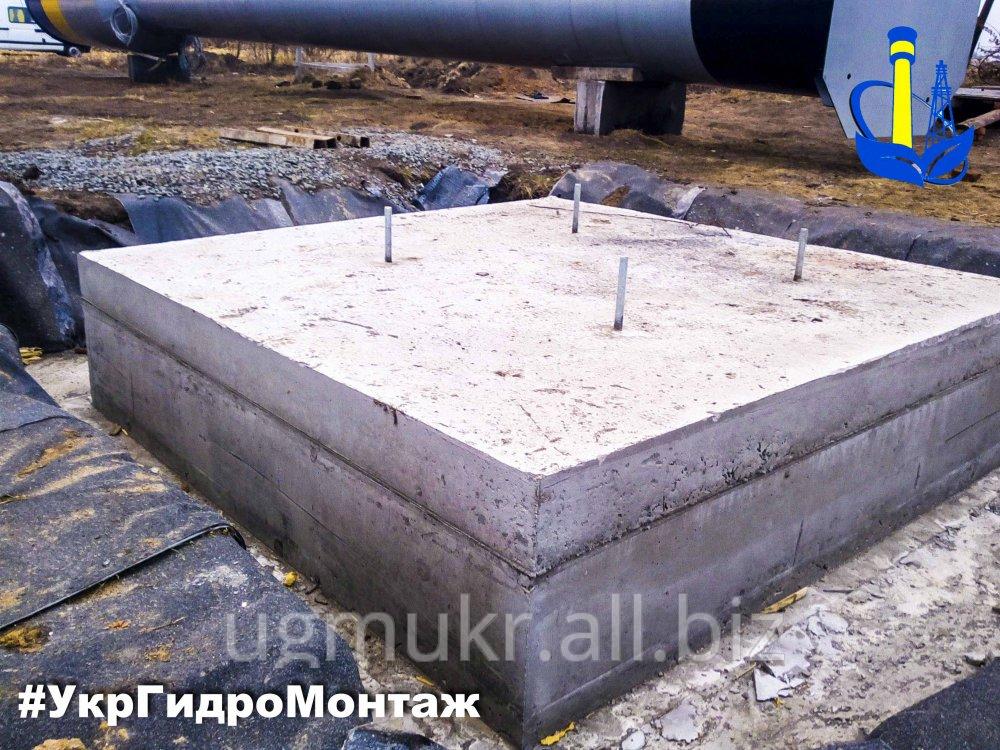 Заказать Устройство Фундамента для водонапорной башни Рожновского вбр 15,25, 50,100,160,200