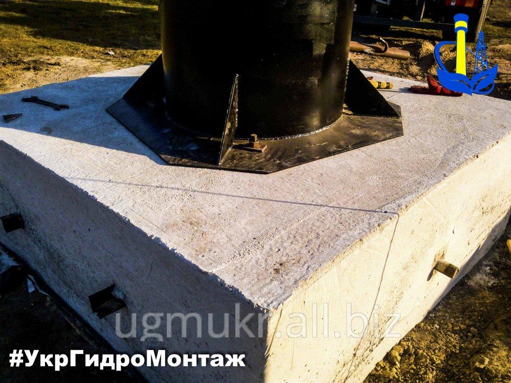 Заказать Фундамент под основание водонапорной башни Рожновского устройство по Украине
